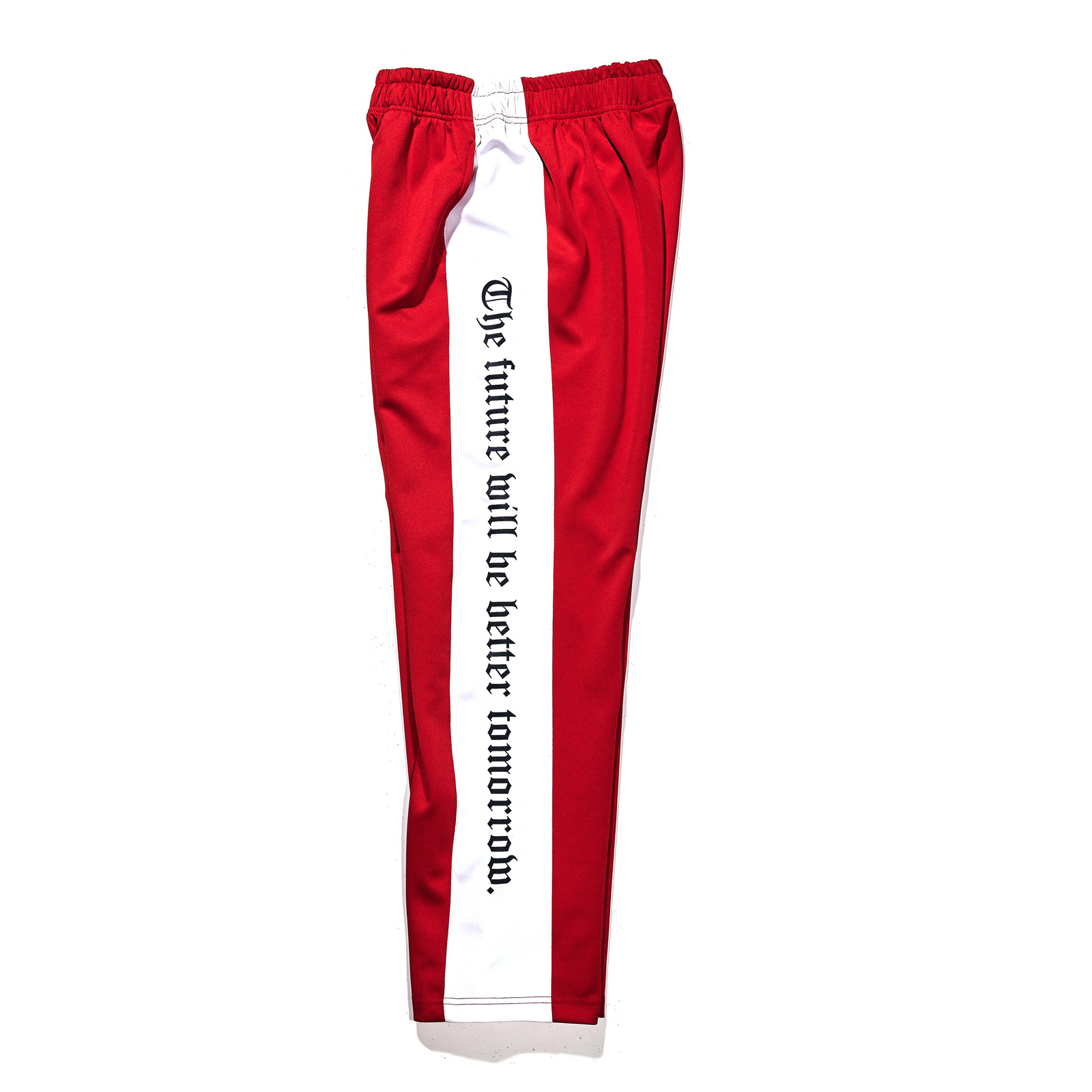 Modern Line track pants Red