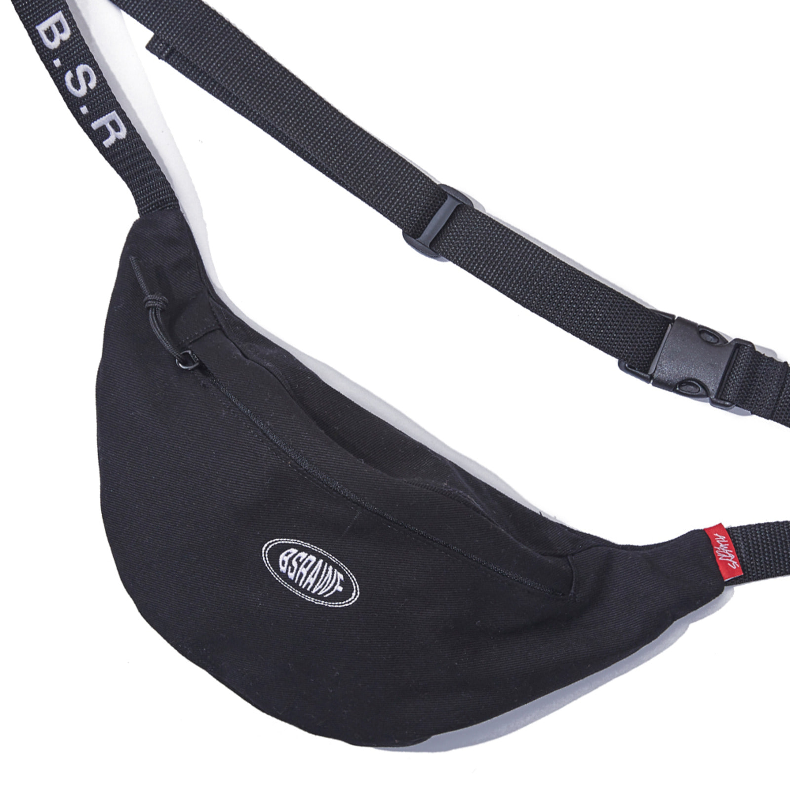 BSRAWF WAISTBAG BLACK