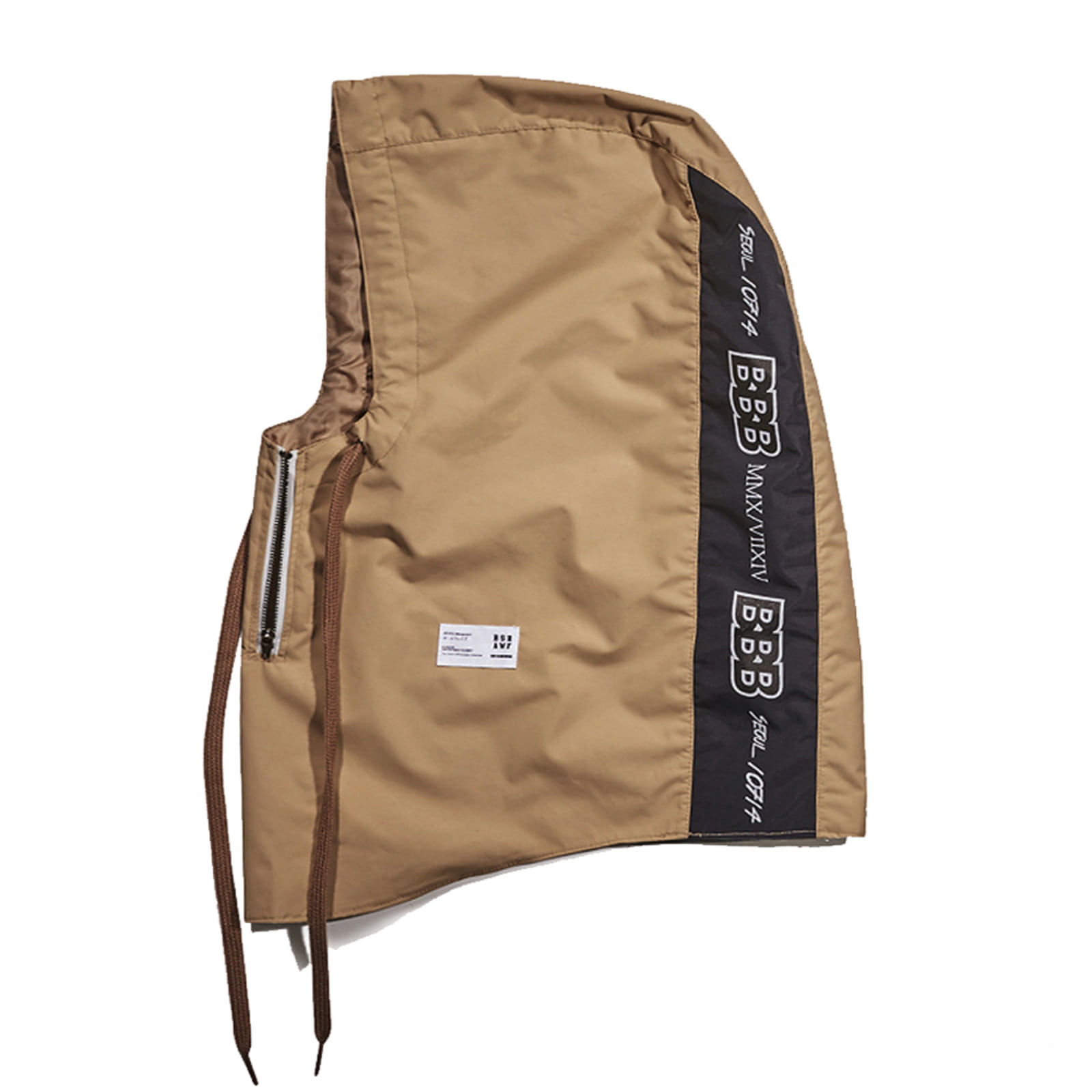 BBB Waterproof ZIP UP HOODWARMER BEIGE