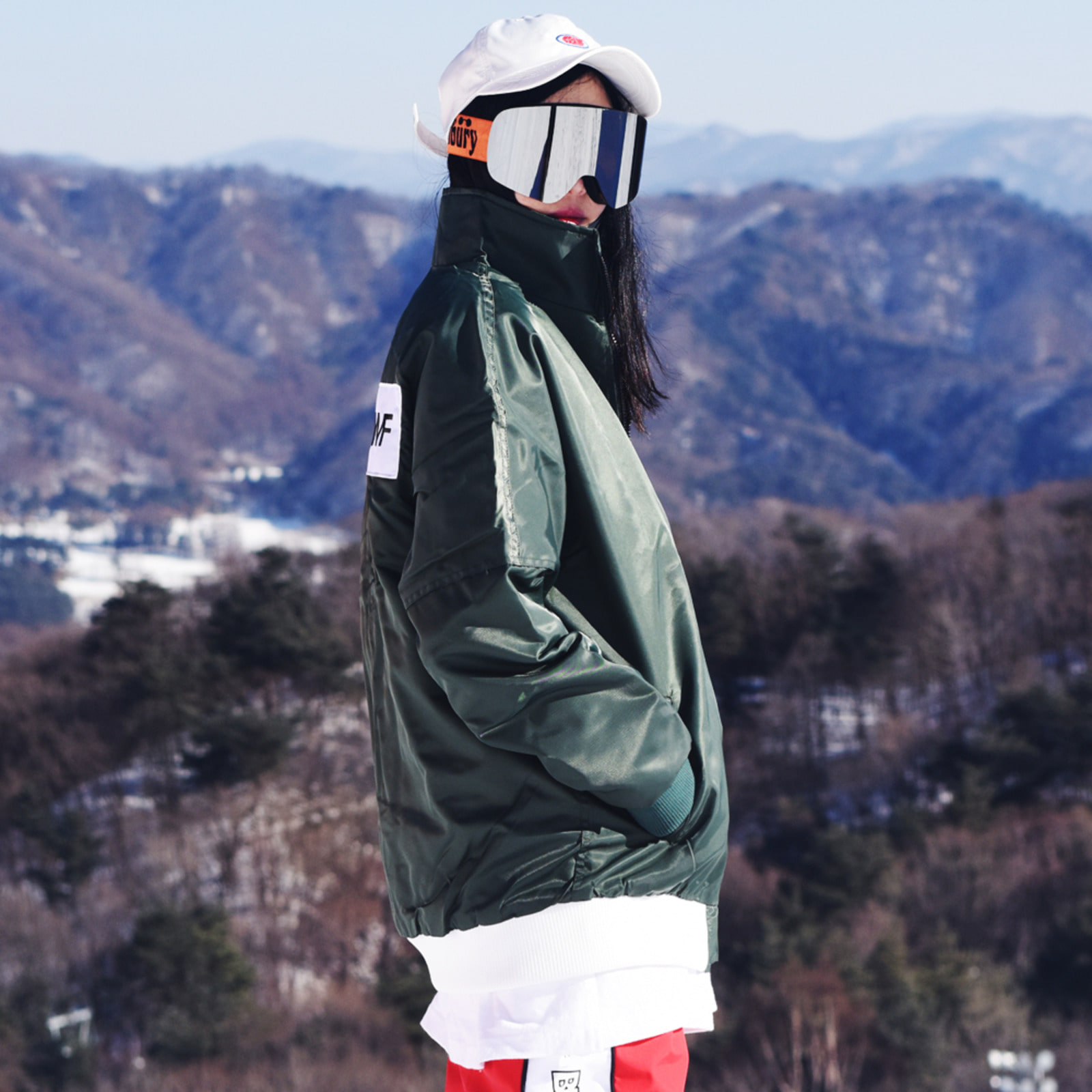 BSR HN Stadium jacket Forest
