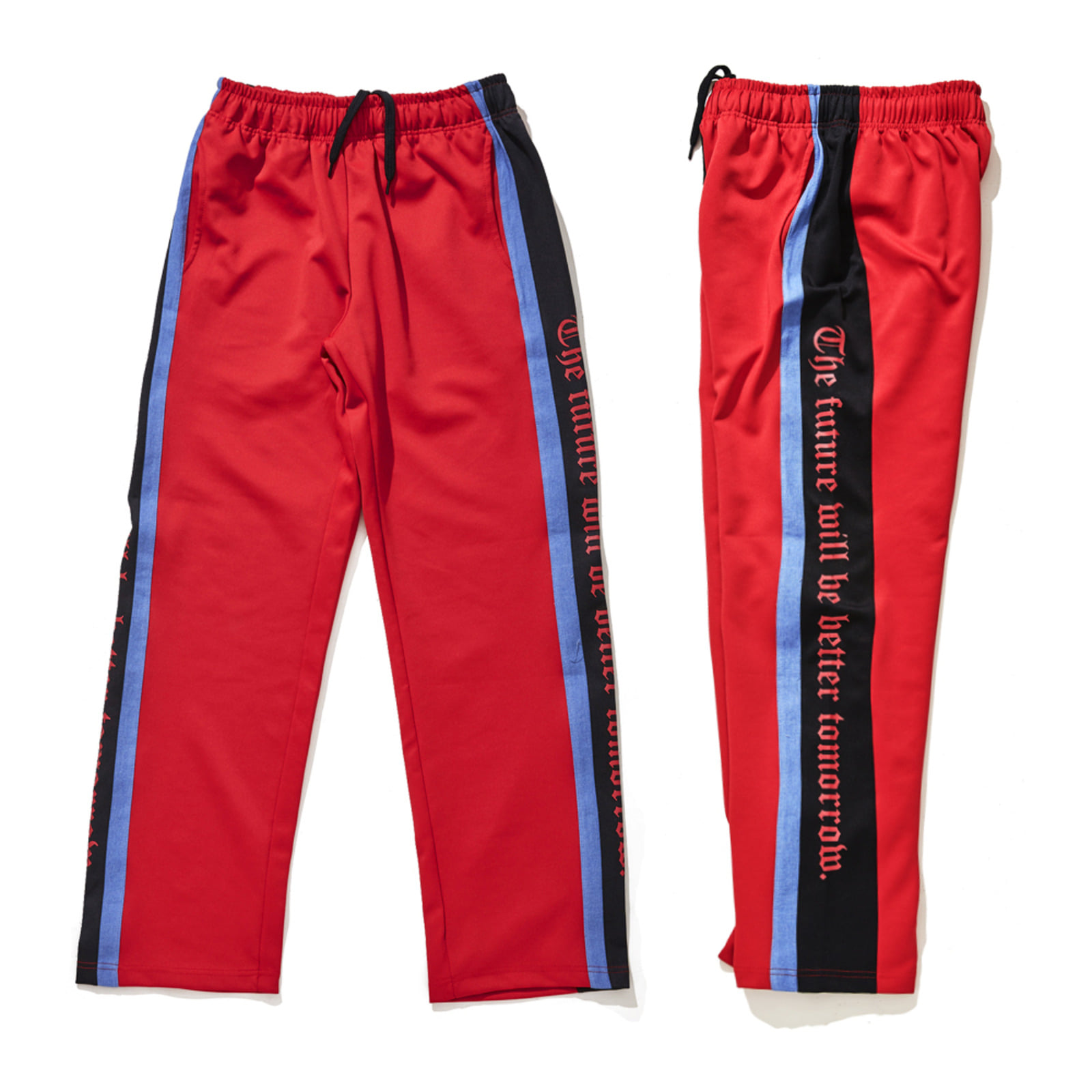 DOUBLE LINE TRACK PANTS RED [L : 26일 예약발송]