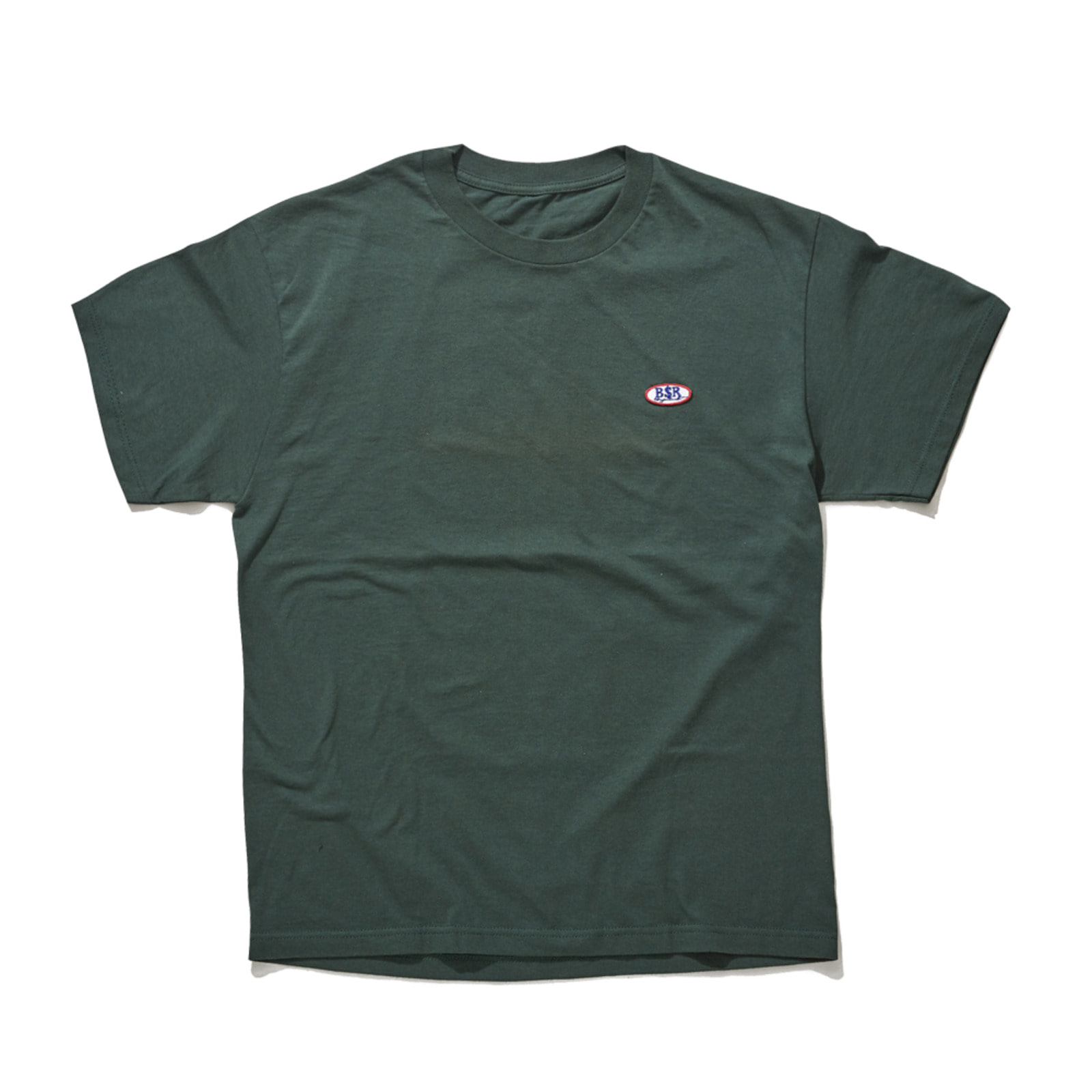 BSRABBIT BSR WAPPEN T-SHIRT GREEN