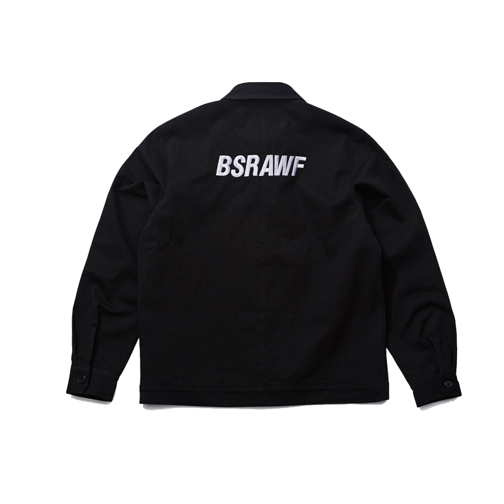 BSRABBIT UNUSUAL CLASSIC JACKET BLACK