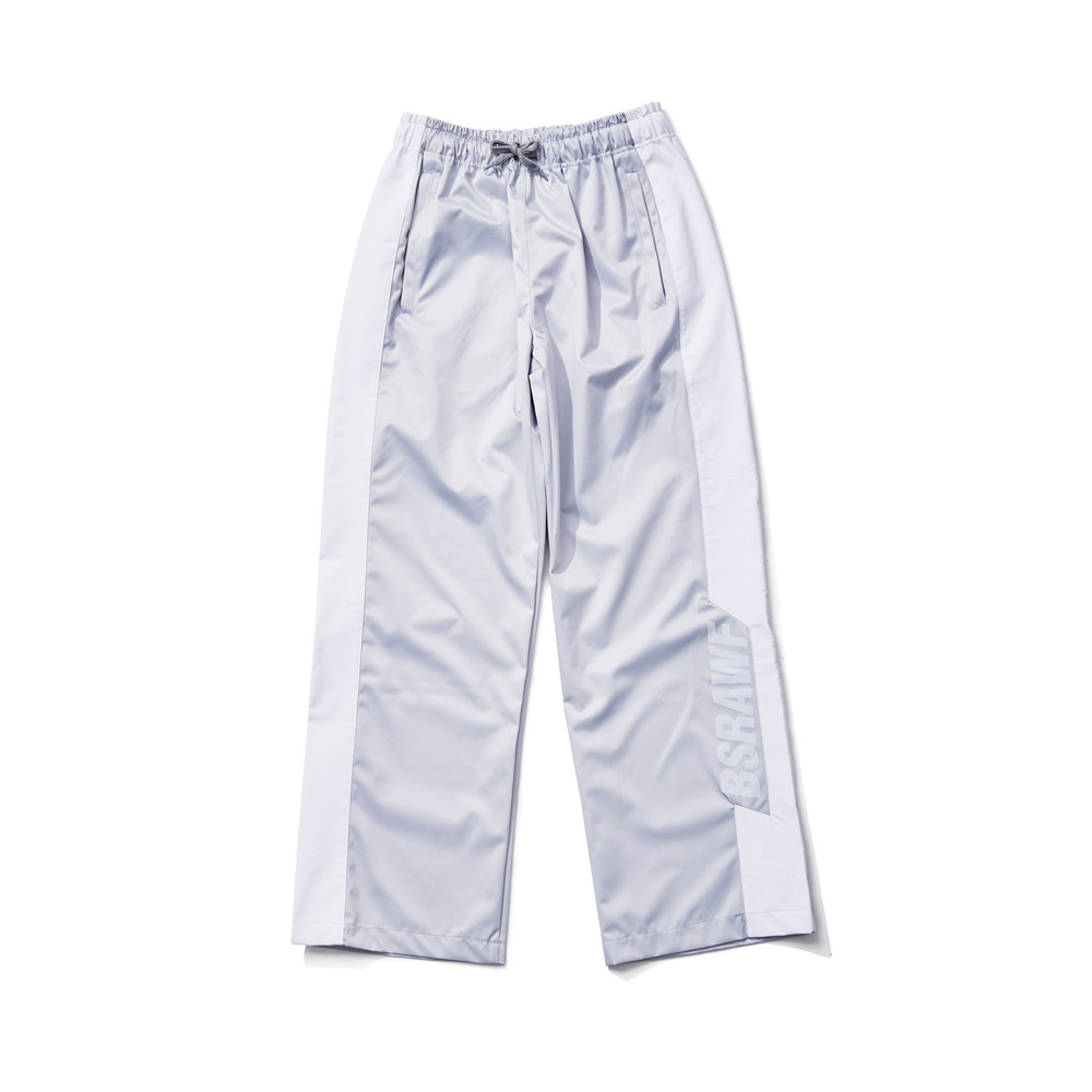 BSRABBIT BSRAWF WATERPROOF TRACK PANTS SILVER