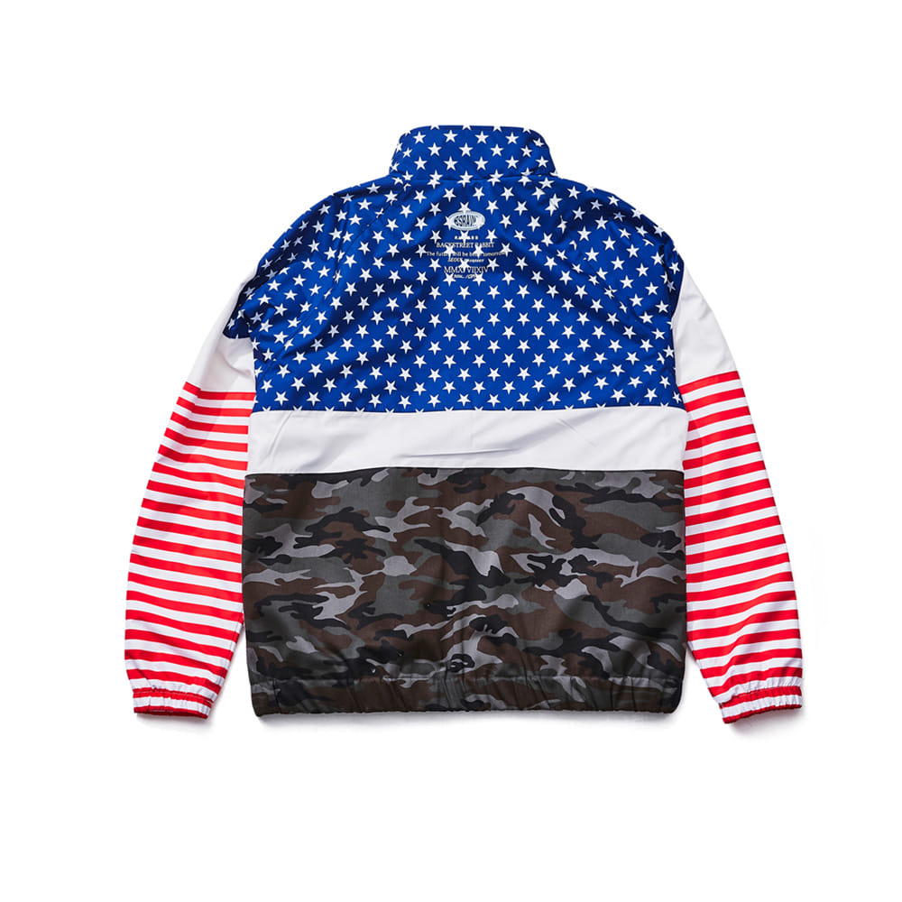BSRB TRACK JACKET US CAMO