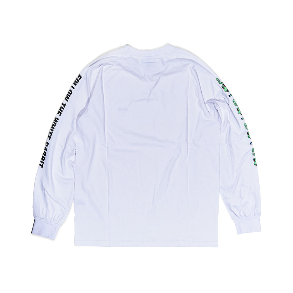 BSRABBIT REGR LONG SLEEVE WHITE