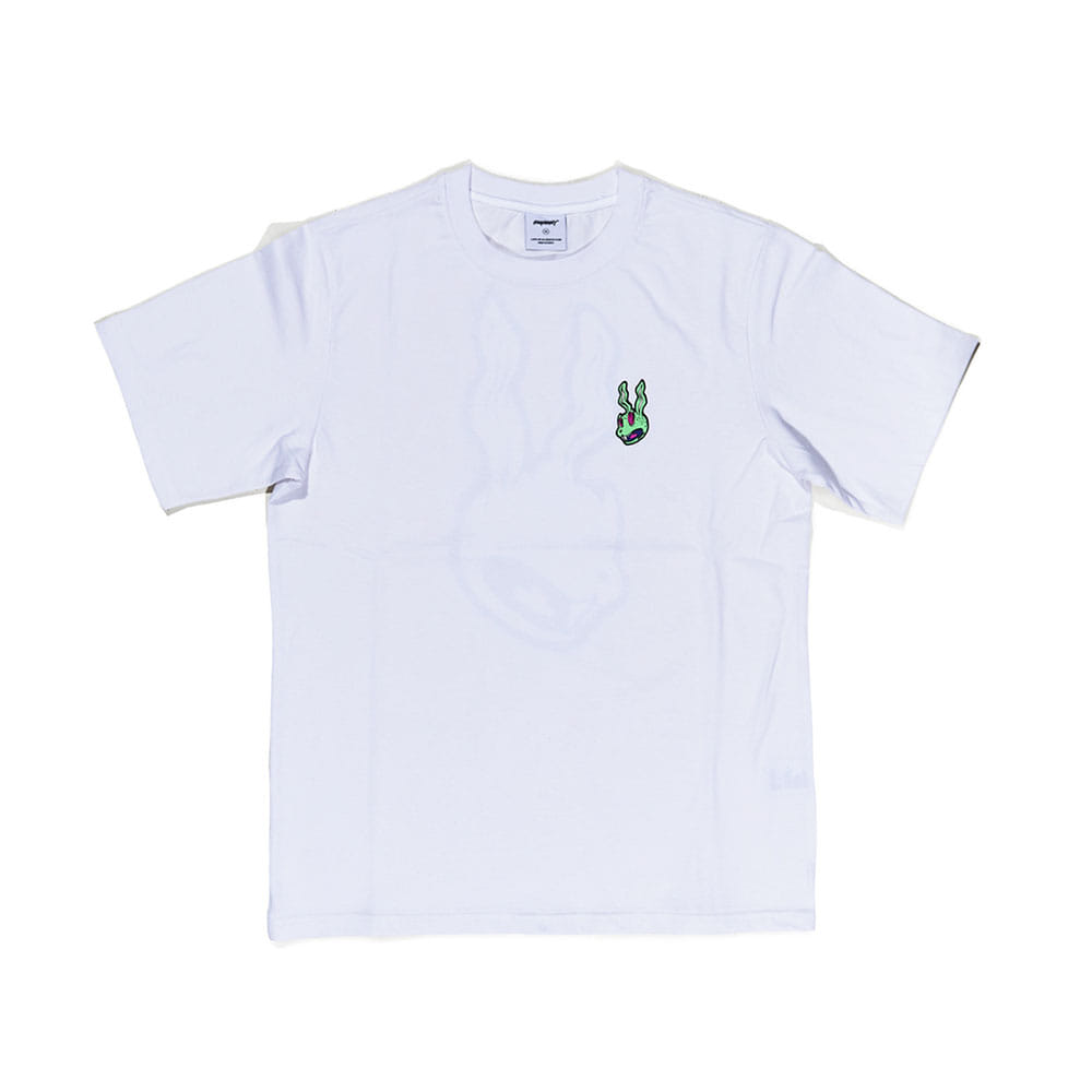 BSRABBIT INTO GR T-SHIRT WHITE