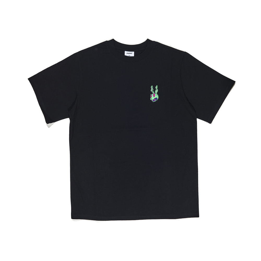 BSRABBIT INTO GR T-SHIRT BLACK