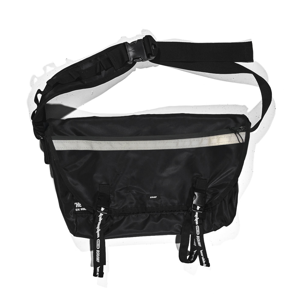 BSRABBIT BSR MESSENGER BAG BLACK