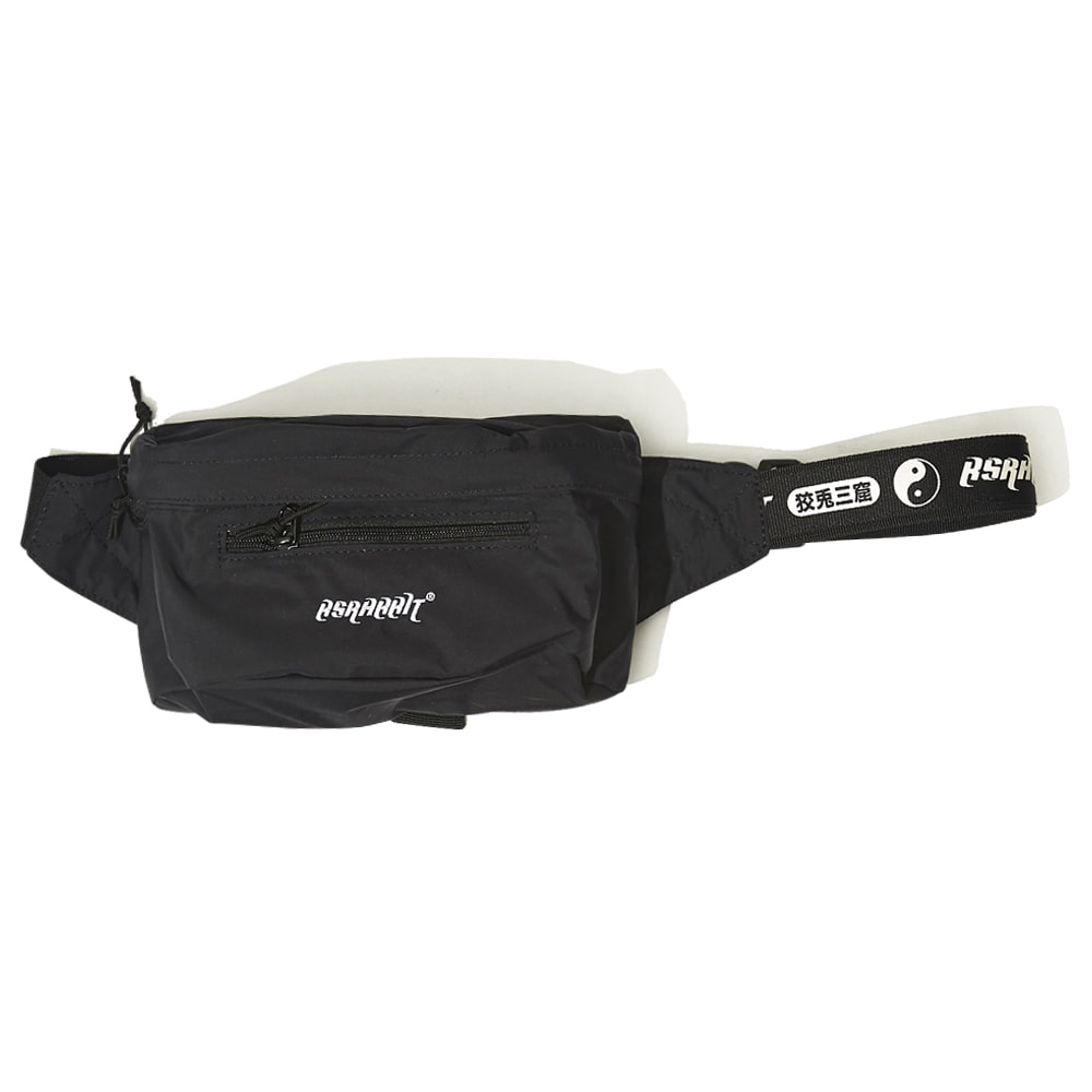 BSRABBIT BSRABBIT IDEAL WAIST BAG BLACK
