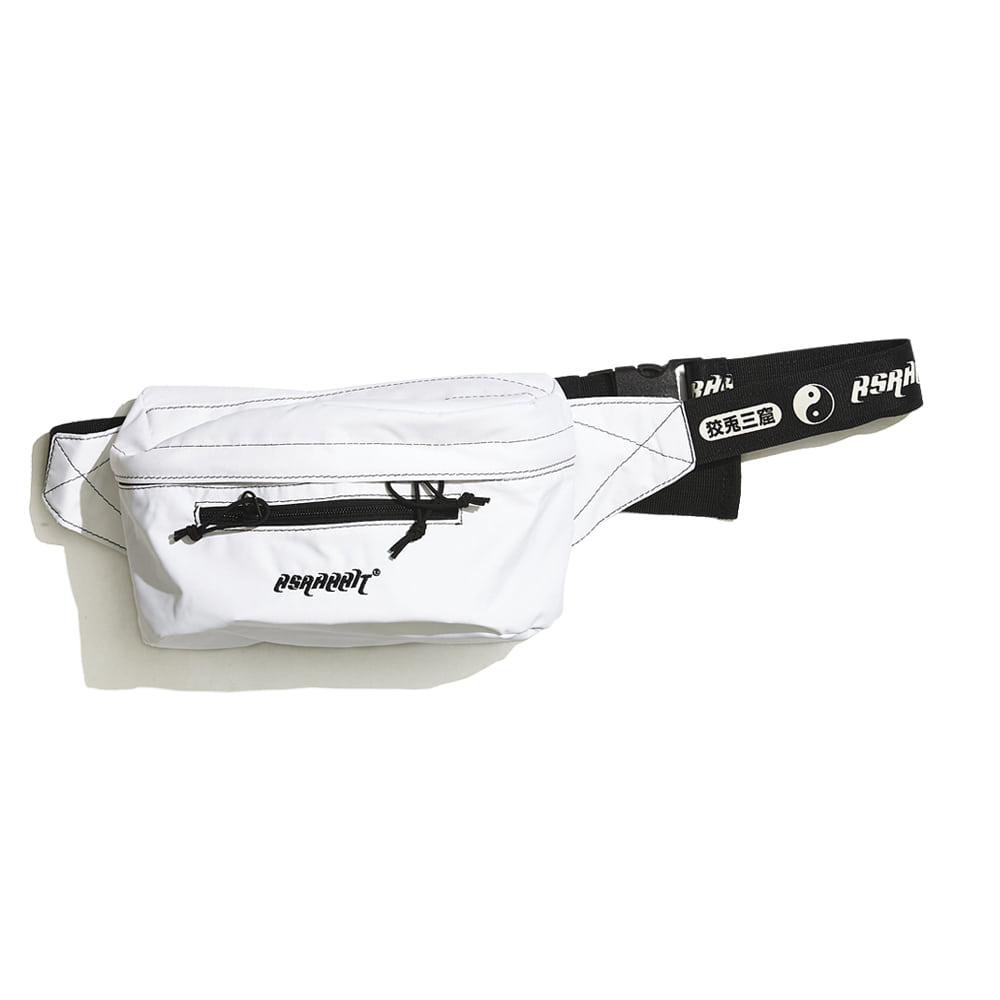 BSRABBIT BSRABBIT IDEAL WAIST BAG WHITE