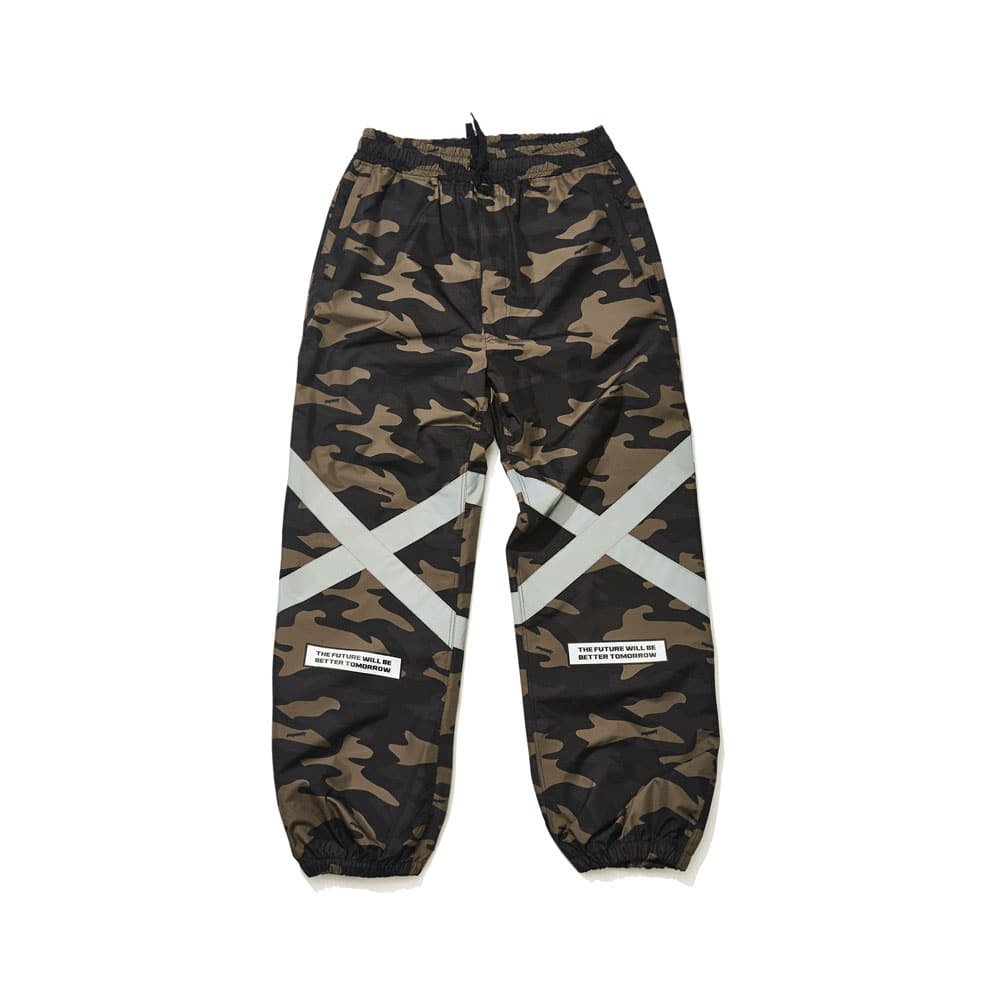 BSRABBIT POT-X REFLECTIVE JOGGER PANTS CAMO