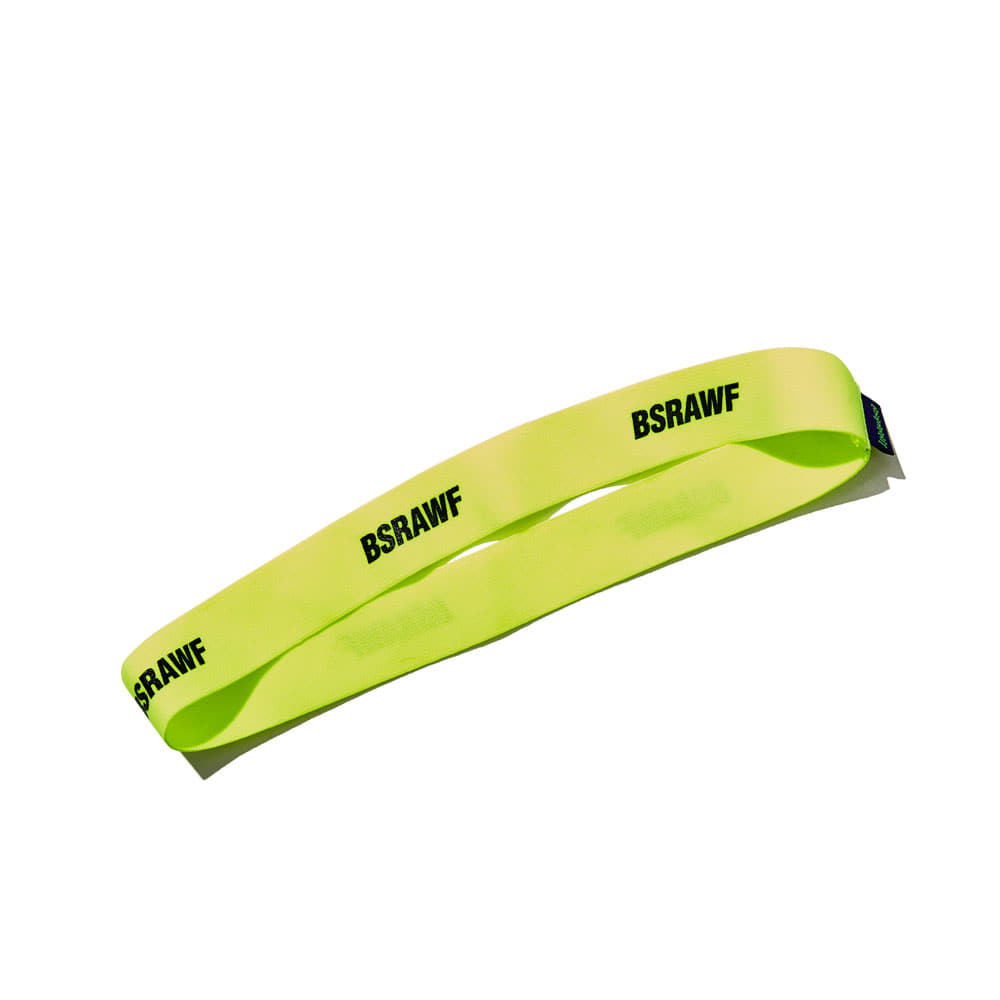 BSRABBIT WOOL HEAD BAND FLUORESCENT