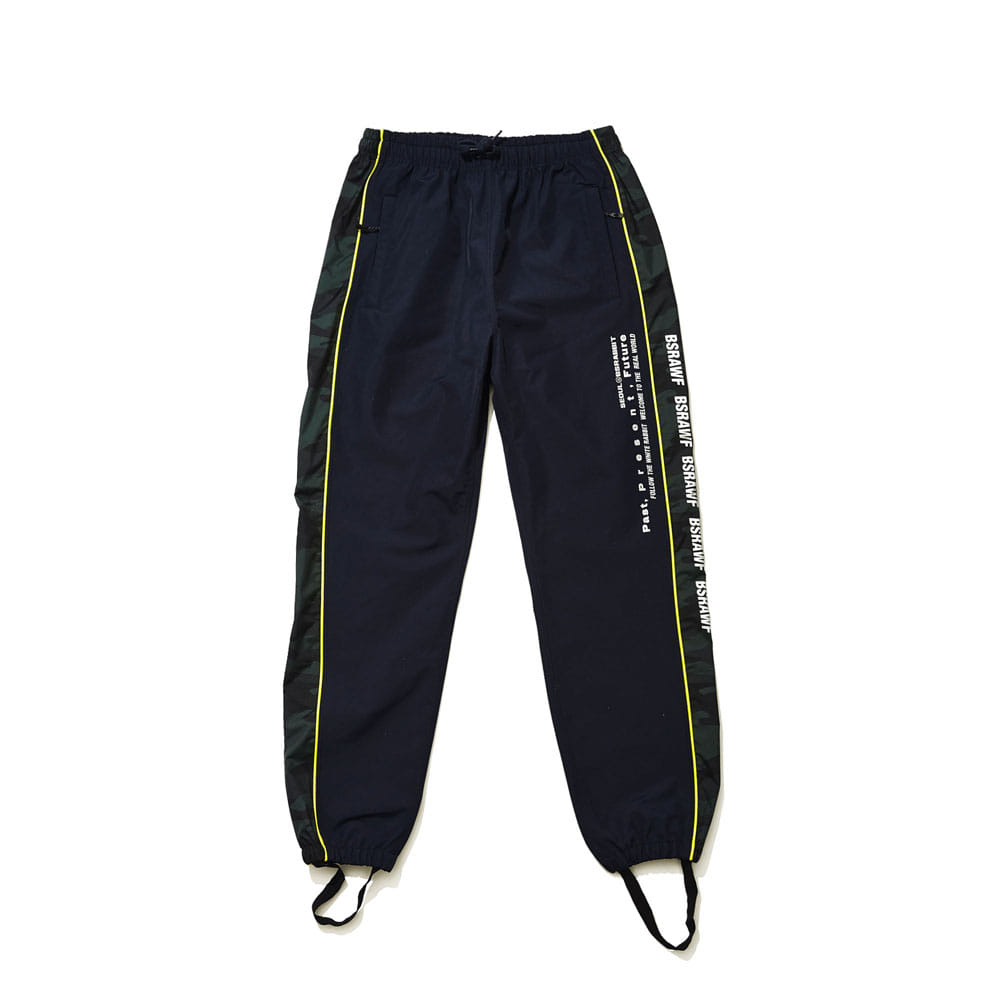 BSRABBIT SIDELINE CAMO JOGGER PANTS NAVY