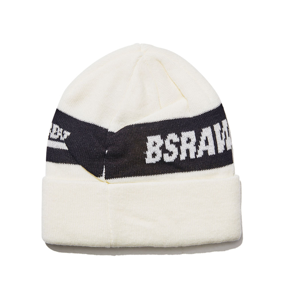 BSRABBIT BFW KNIT BEANIE WHITE