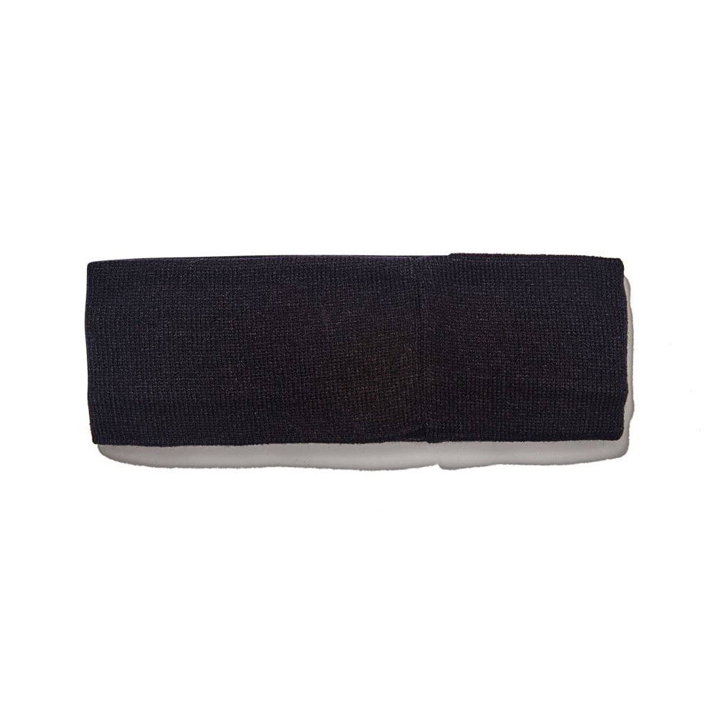 BSRABBIT GR KNIT HEADBAND BLACK