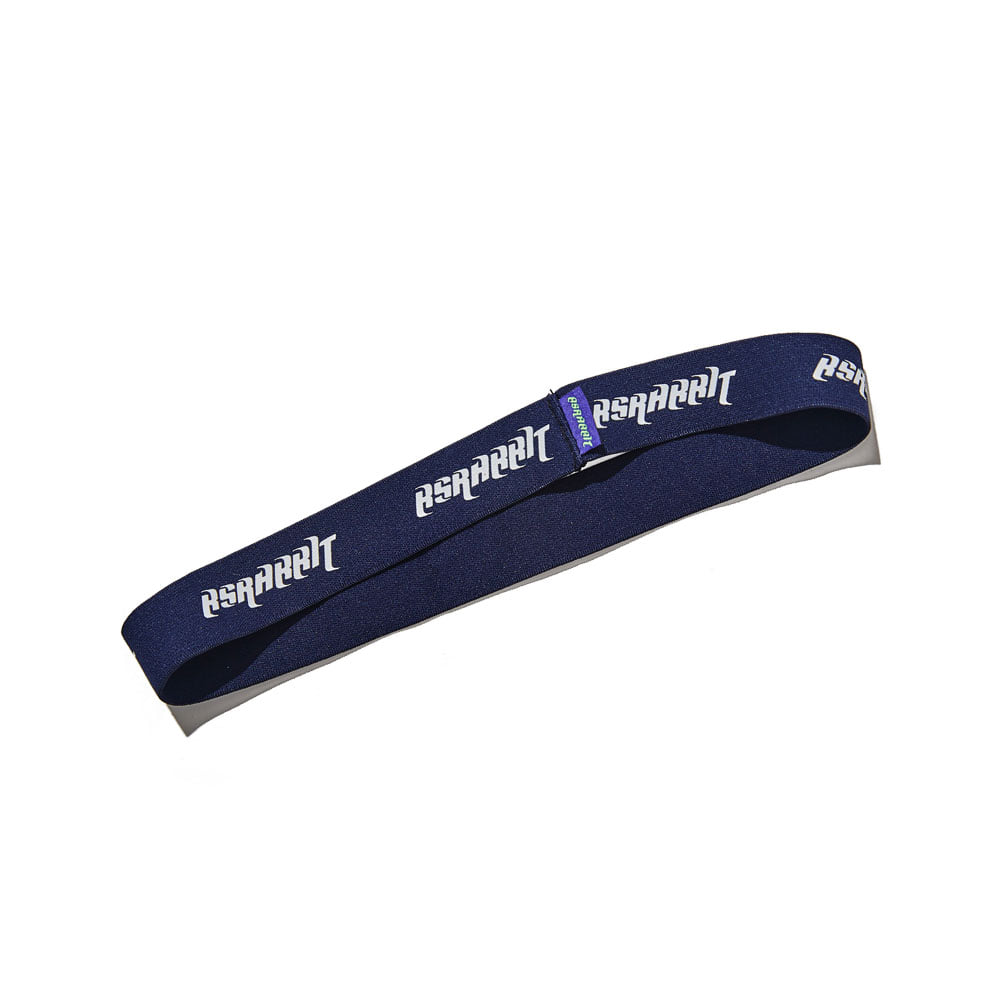 BSRABBIT WOOL HEAD BAND NAVY