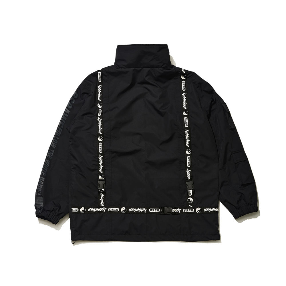BSRABBIT BSRAWF HUNTING JACKET BLACK