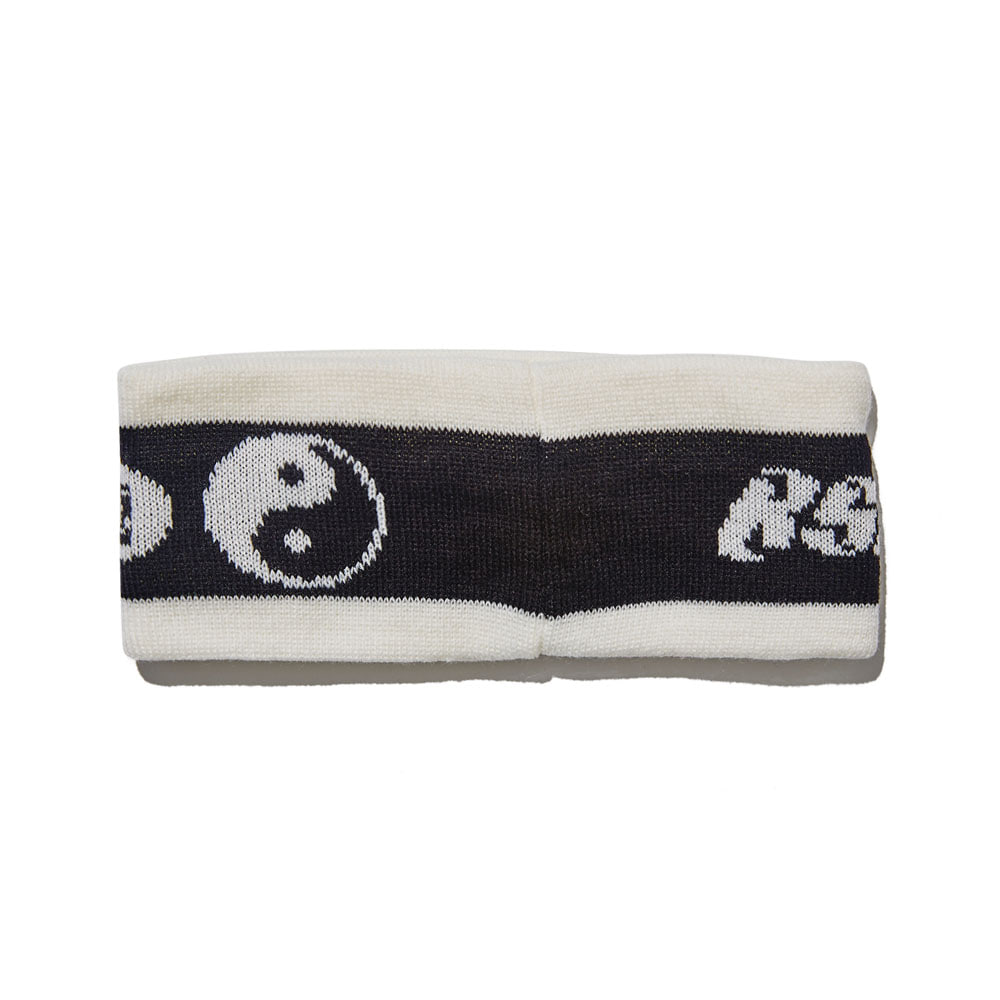 BSRABBIT GYOTOSAMGUL KNIT HEADBAND BLACK