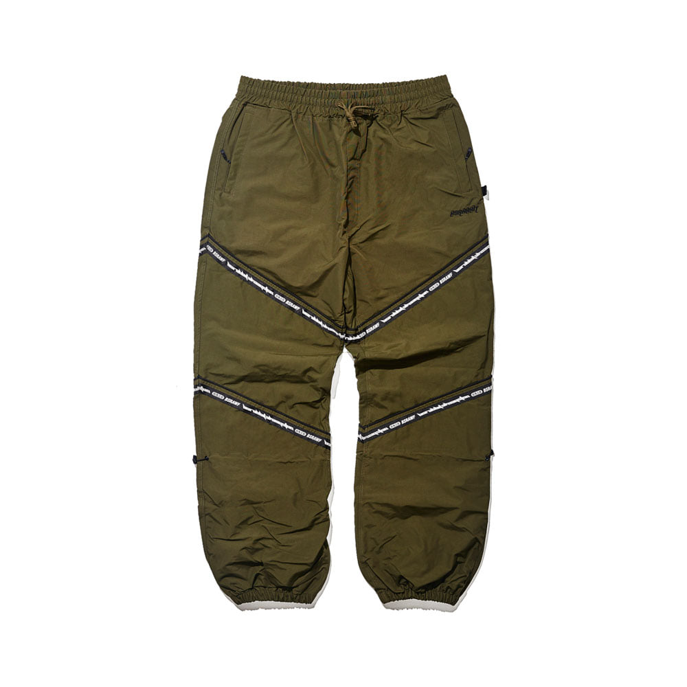 BSRABBIT BSR TRANSFORM BOX MULTI JOGGER PANTS LINE KHAKI