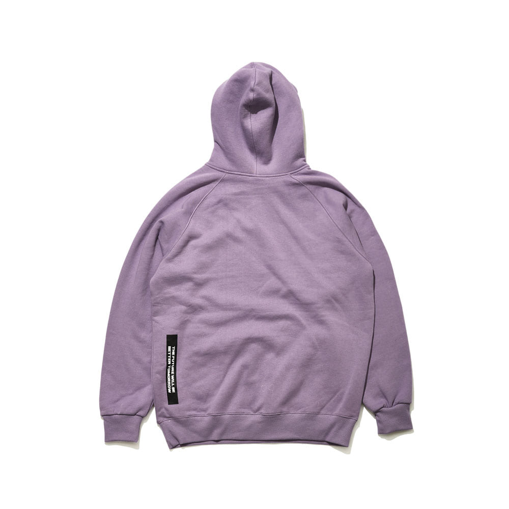 BSRABBIT BSR HOODIE LIGHT PURPLE
