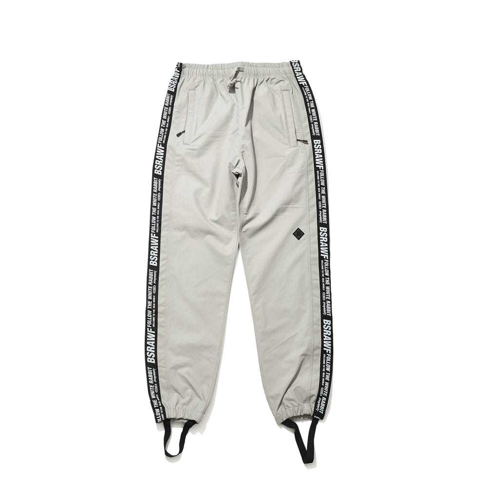 BSRABBIT TAPE SP JOGGER PANTS GRAY