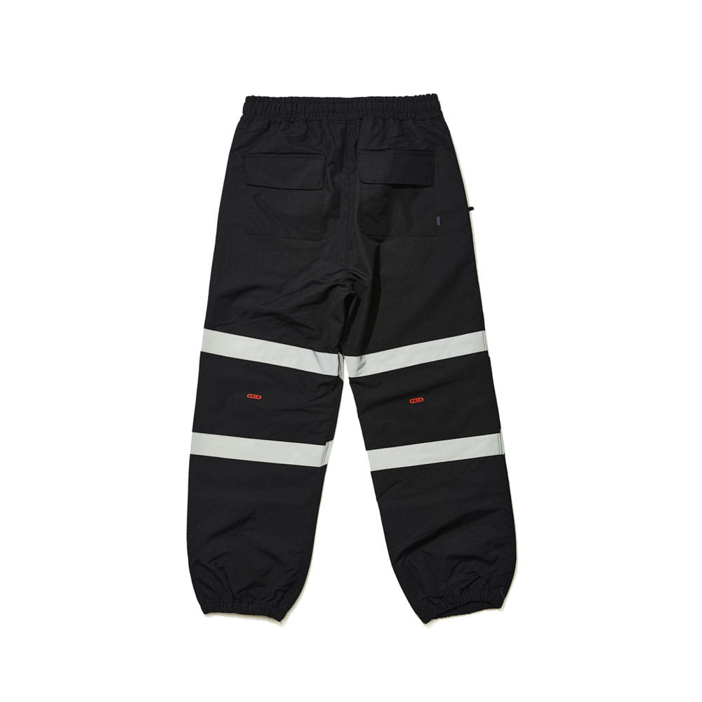 BSRABBIT POT-X REFLECTIVE JOGGER PANTS BLACK