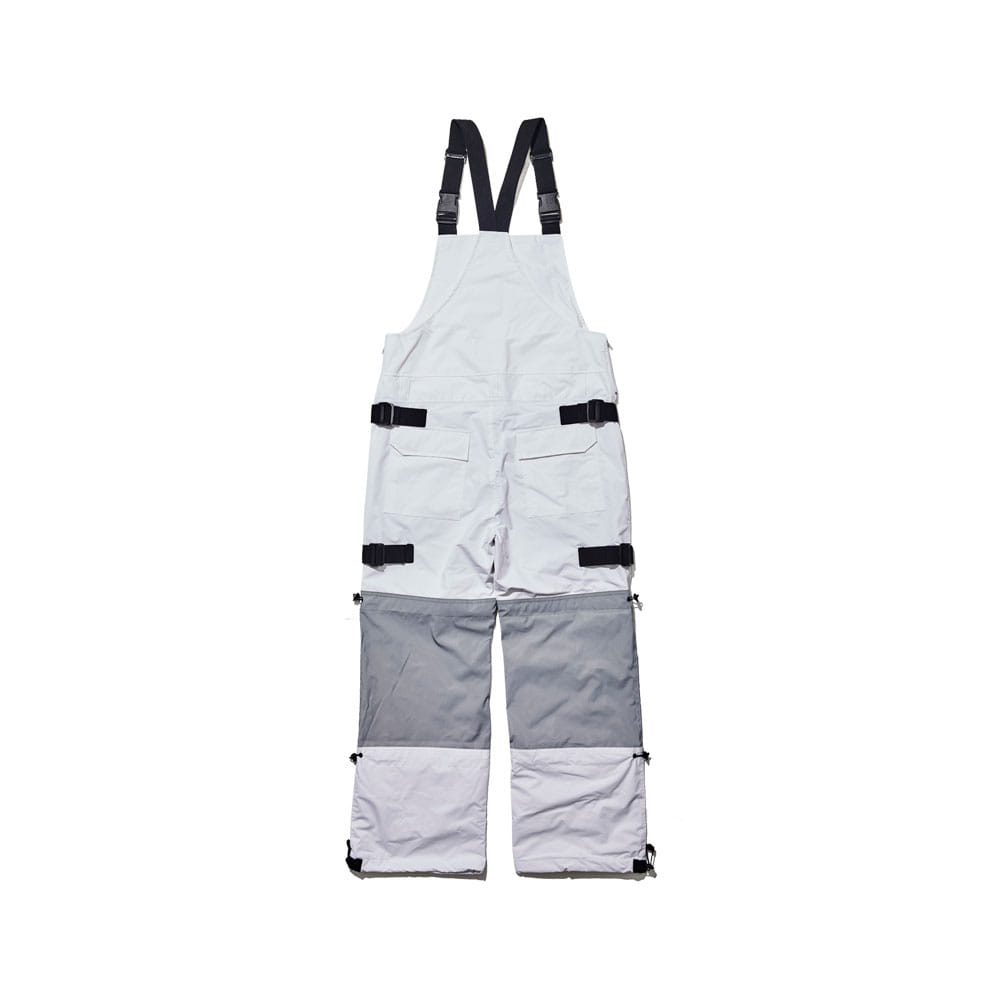 BSRABBIT BSR INCREDIBLE TRANSFORM BIB PANTS WHITE