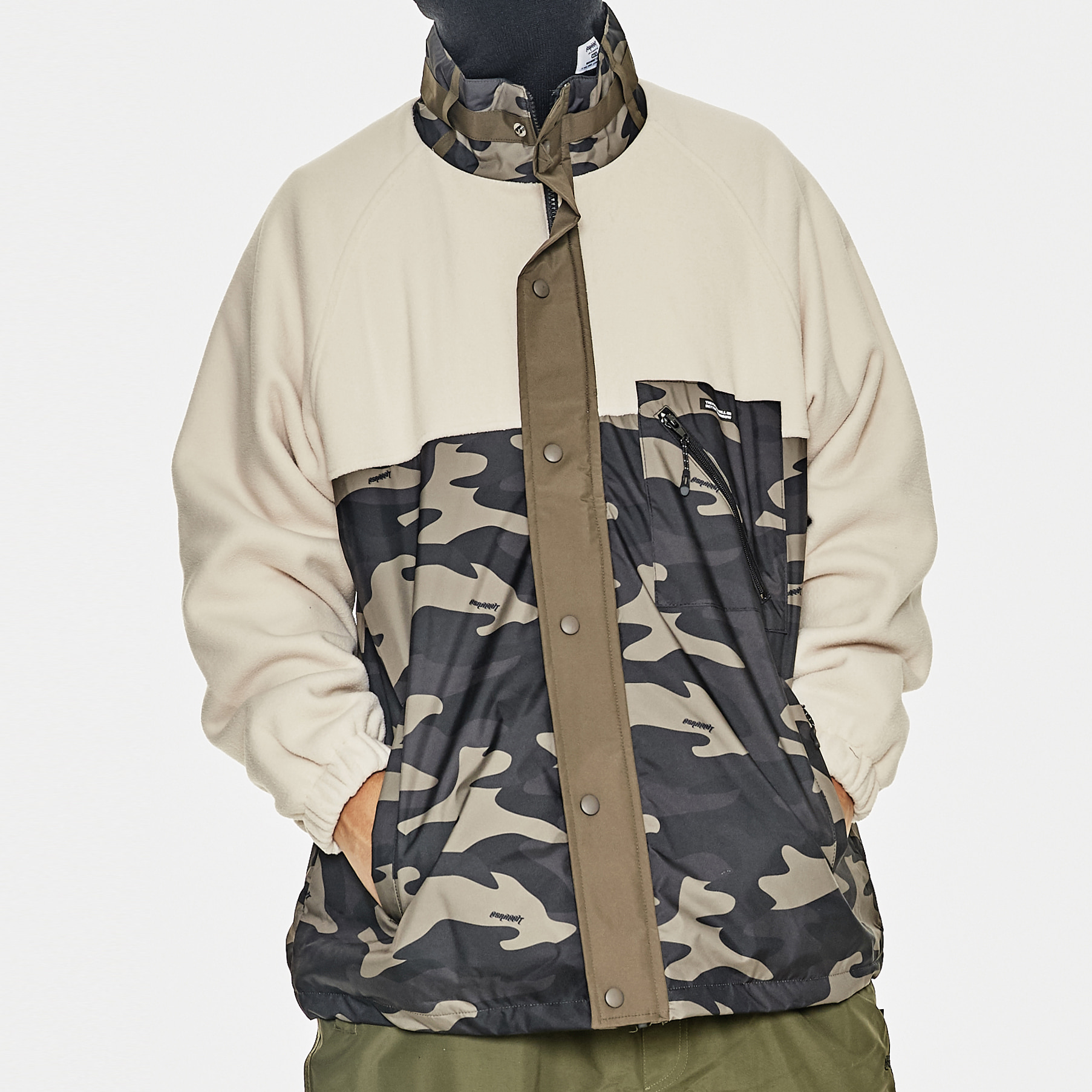BSRABBIT SENSUAL FLEECE JACKET CAMO