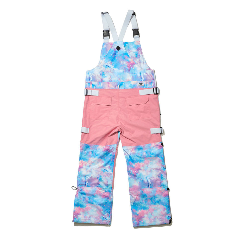 BSRABBIT BSR INCREDIBLE TRANSFORM BIB PANTS FANTASY PINK