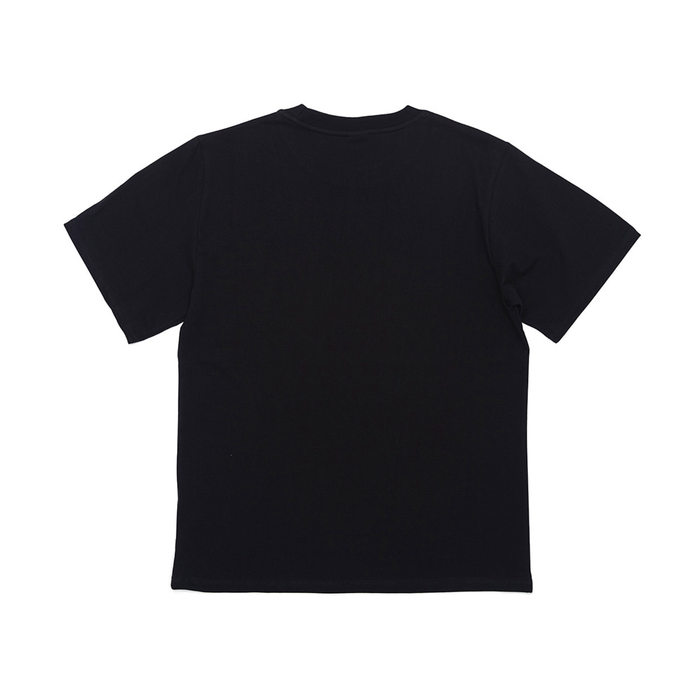BSRABBIT WEWE BASIC T-SHIRTS BLACK