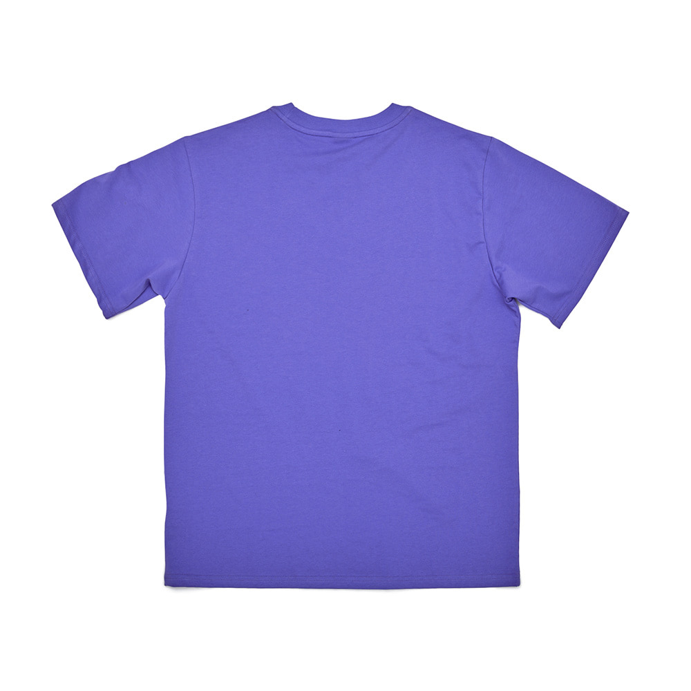 BSRABBIT BSRBT FOCUS T-SHIRTS PURPLE