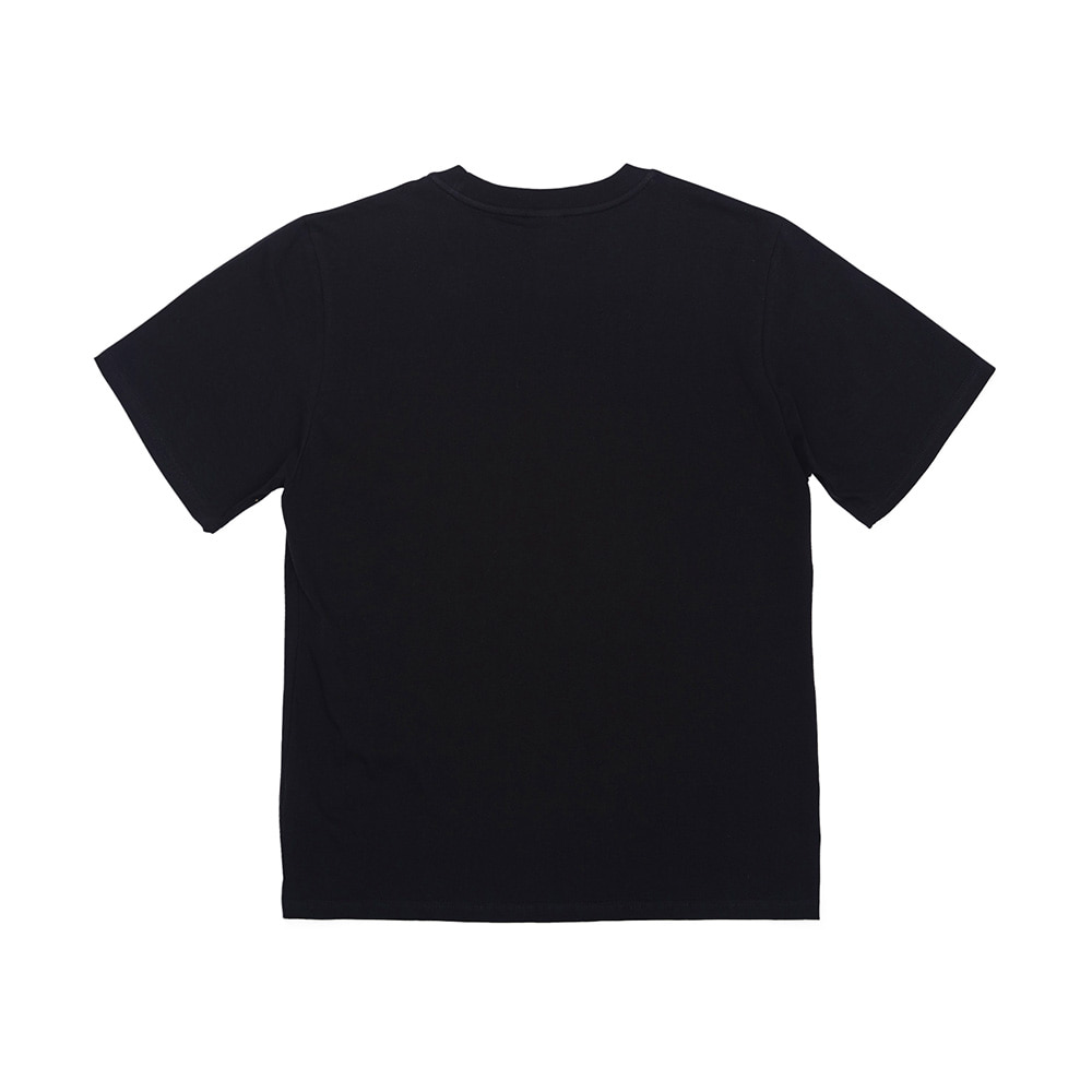 BSRABBIT BSRBT FOCUS T-SHIRTS BLACK