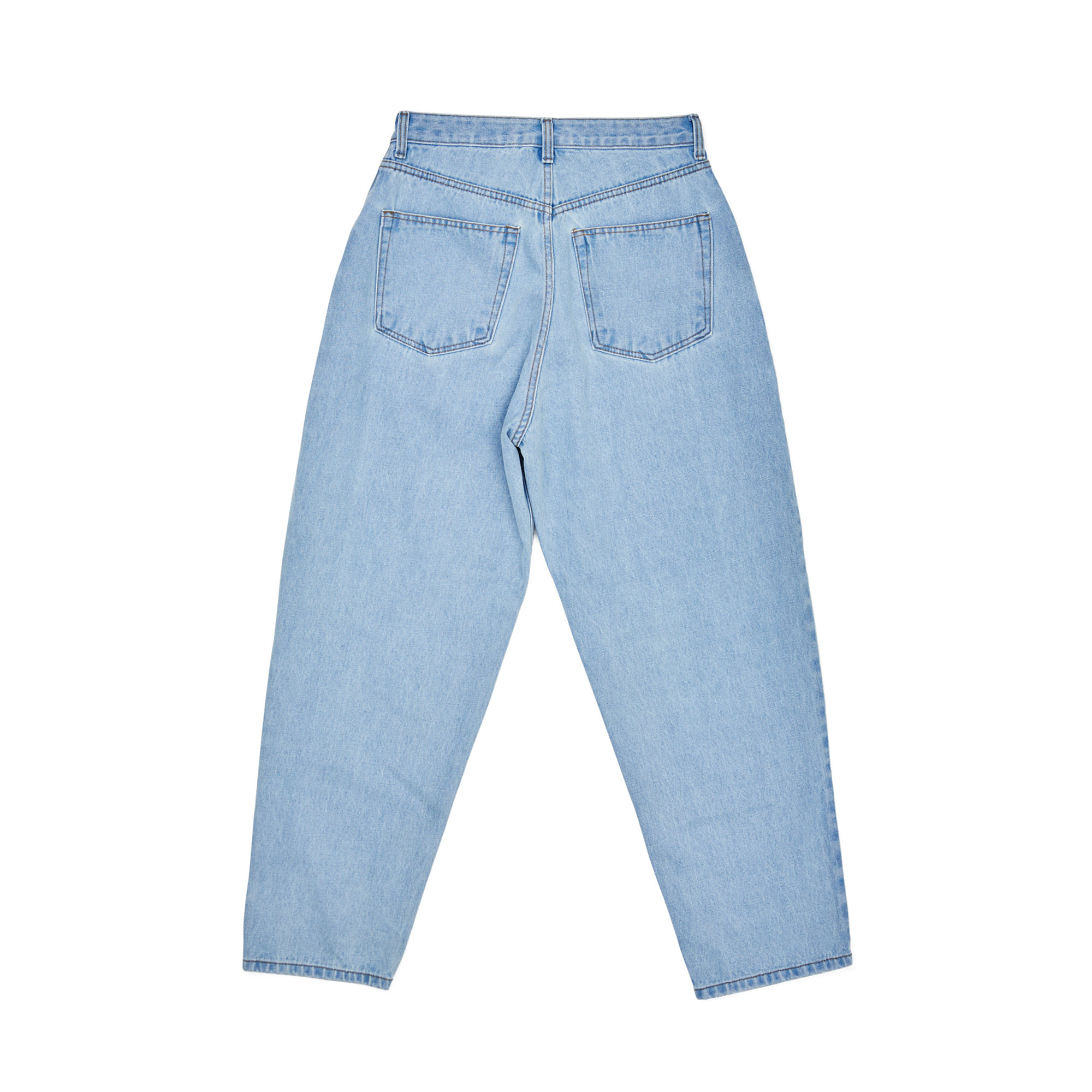 BSRABBIT BS MID90S LOOSE FIT BAGGY DENIM PANTS / LIGHTBLUE