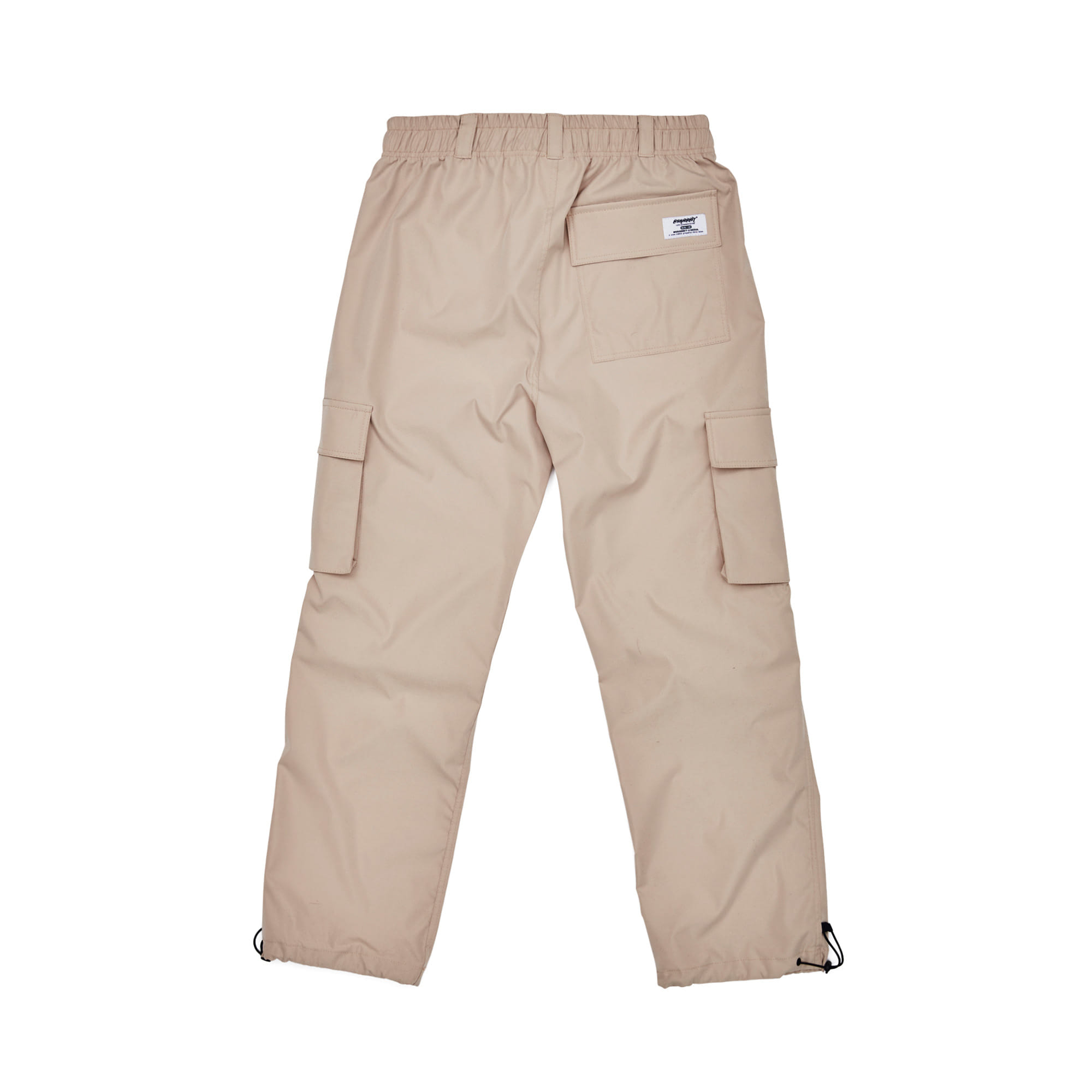 BSRABBIT BSRBT STRETCH TWILL CARGO TRACK PANTS BEIGE