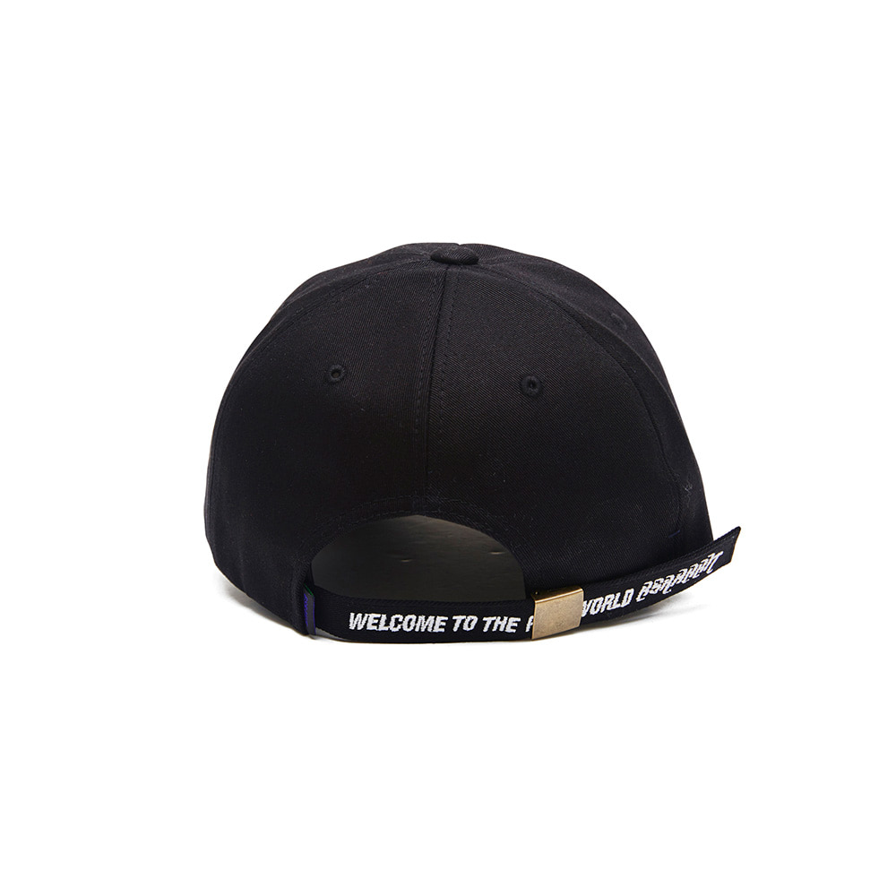 자체브랜드 TRIPPY RABBIT CAP BLACK