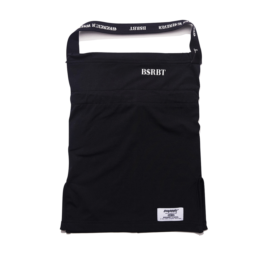 자체브랜드 BSRBT V-LINE INNER POCKET LOGO BAND BALACLAVA [BLACK BAND] [No.1] [필터교체형]