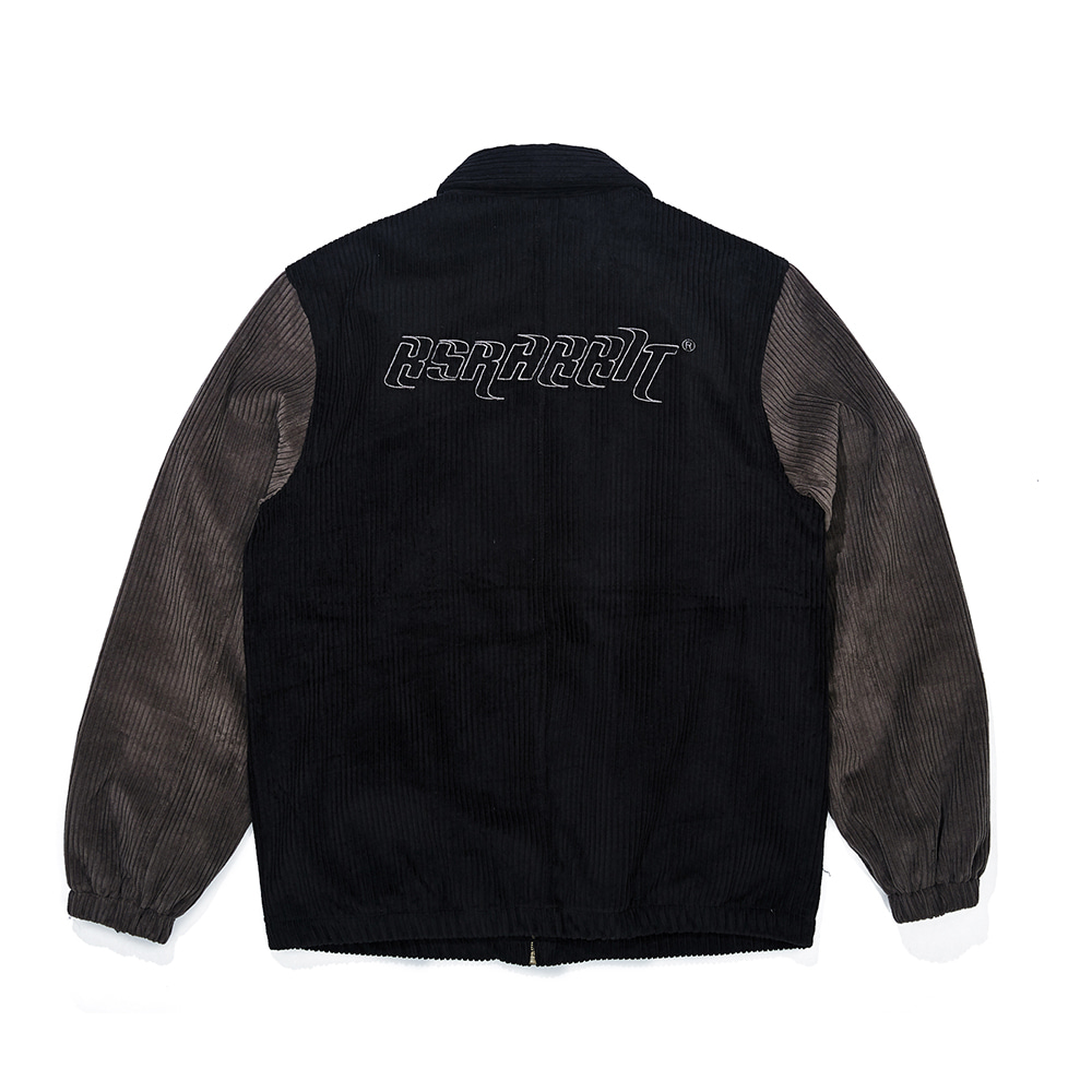 자체브랜드 CORDUROY COLLAR JACKET BLACK