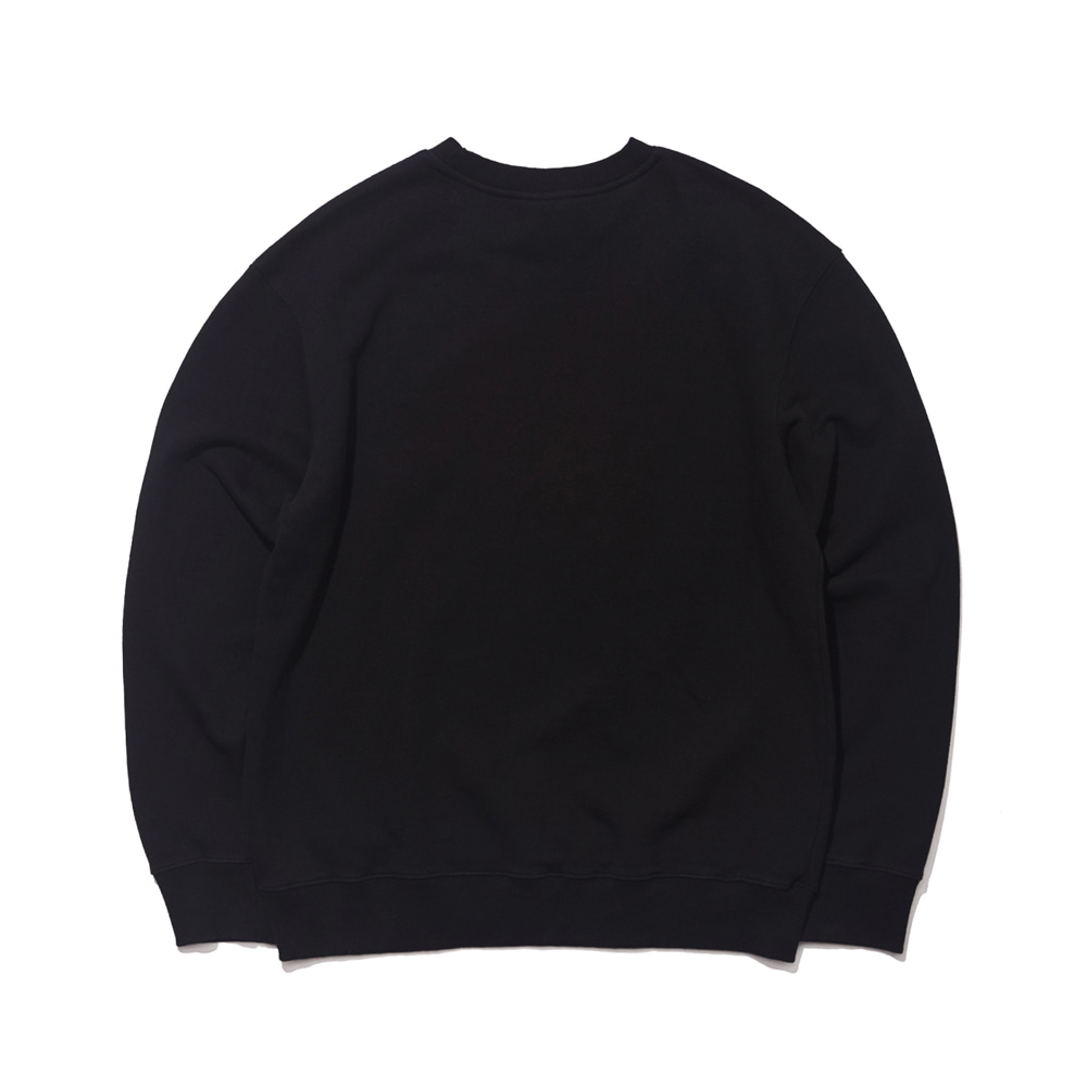 자체브랜드 GR WELCOME DRY SWEAT SHIRT BLACK