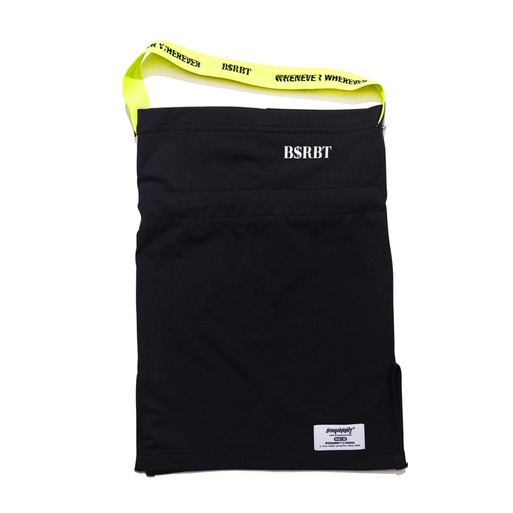 자체브랜드 BSRBT V-LINE INNER POCKET LOGO BAND BALACLAVA [FLUORESCENCE BAND] [No.1] [필터교체형]