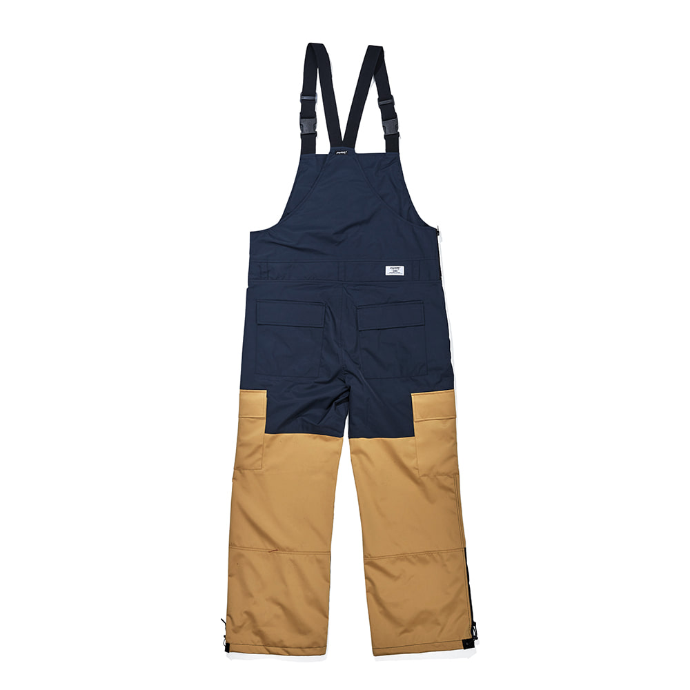자체브랜드 BSR SHINE BIB PANTS NAVY