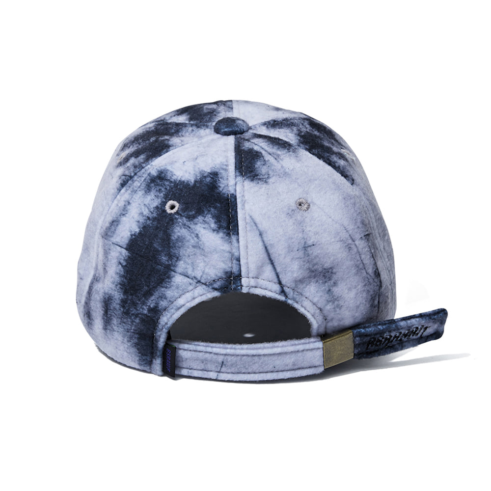 자체브랜드 GR TIE DYE FLEECE CAP BLACK