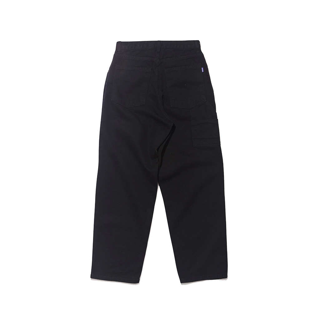 자체브랜드 CARPENTER PANTS BLACK
