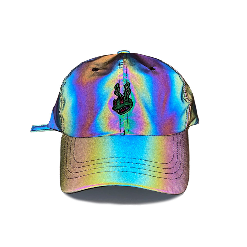 자체브랜드 TRIPPY RABBIT CAP RAINBOW REFLECTIVE