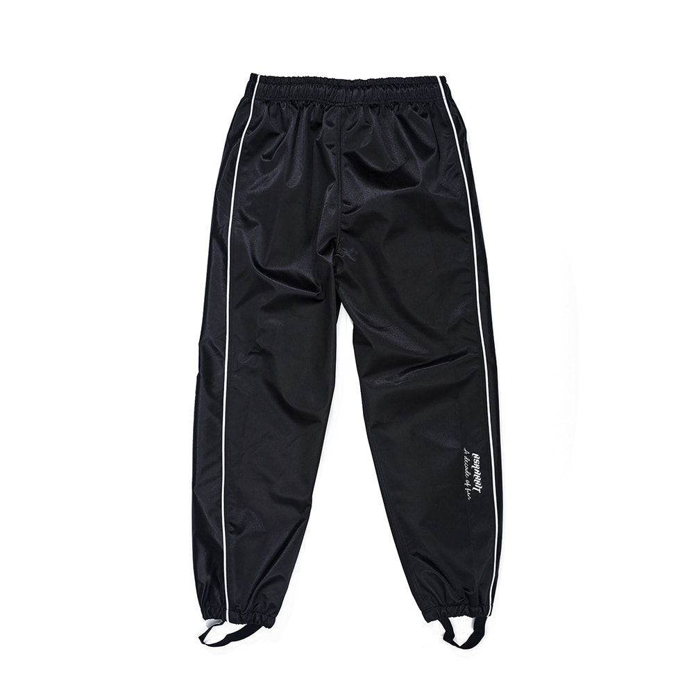자체브랜드 WW SHINE JOGGER PANTS BLACK