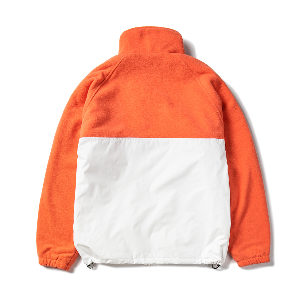 자체브랜드 HALF FLEECE JACKET APRICOT