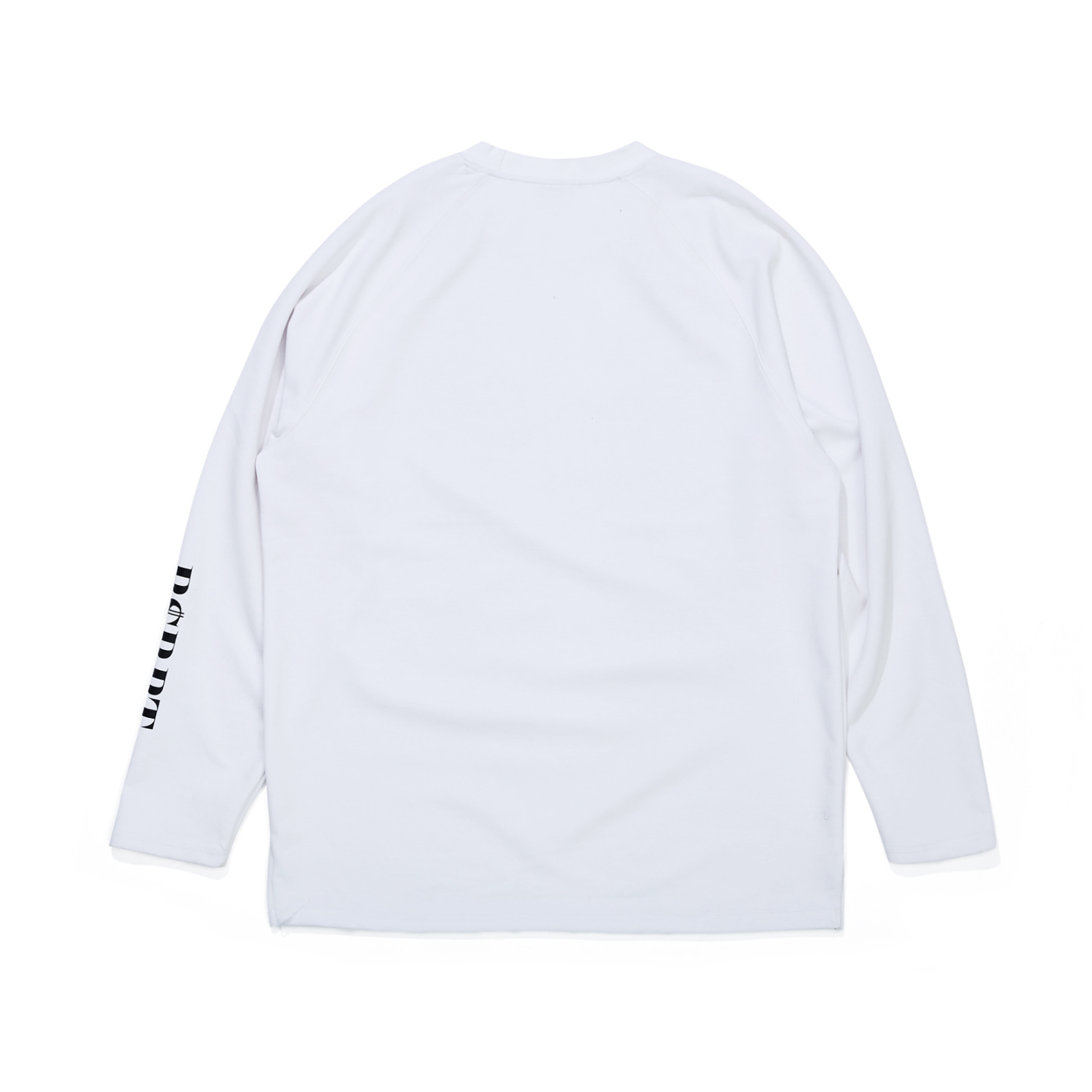 자체브랜드 BSRBT LONG SLEEVE TEE WHITE