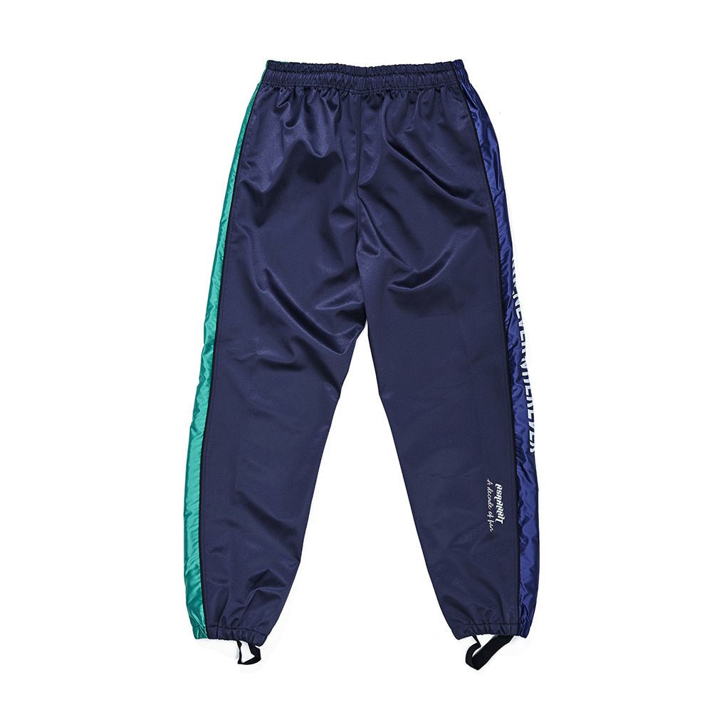자체브랜드 WW SHINE JOGGER PANTS NAVY
