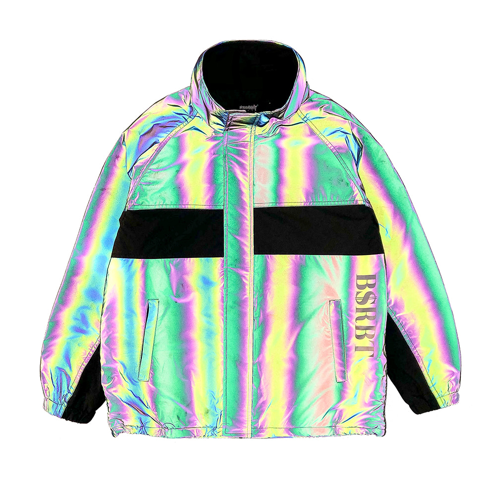 자체브랜드 COMPETITIVE JACKET RAINBOW REFLECTIVE SCOTCH