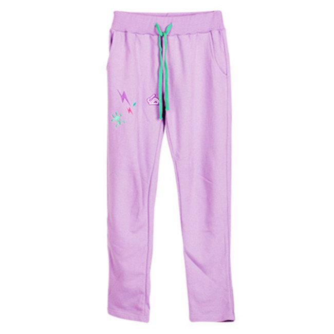 baby purple TRN Pants